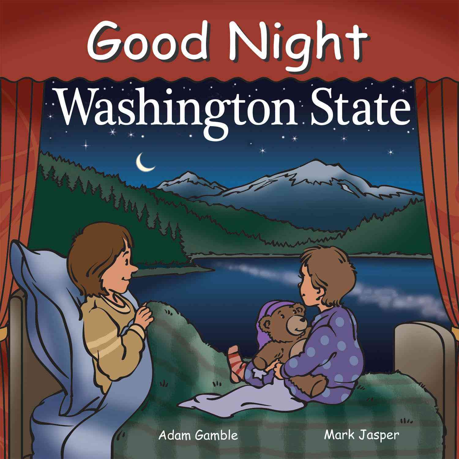 Good Night Washington State By Gamble, Adam/ Jasper, Mark (ILT)/ Veno, Joe (ILT)